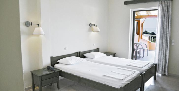 Chambre double - Hôtel Paramonas