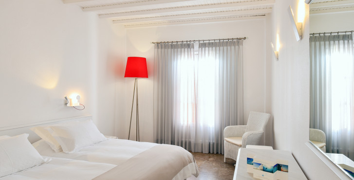 CHambre double - Petasos Town Hotel