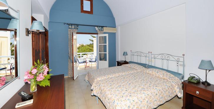 Chambre double - Hôtel Zephyros