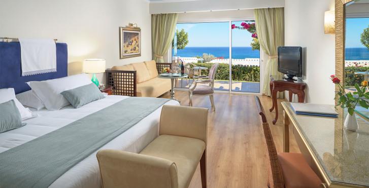 Doppelzimmer Deluxe mit Meersicht - Atrium Prestige Thalasso Spa Resort & Villas