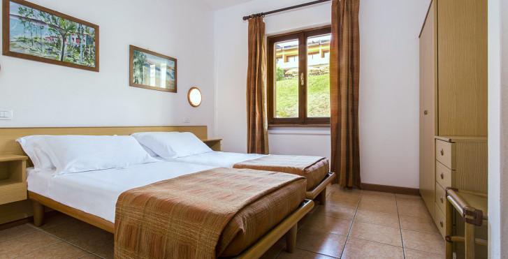 2-Zimmer-Appartement - Ferienanlage Poiano - Appartements