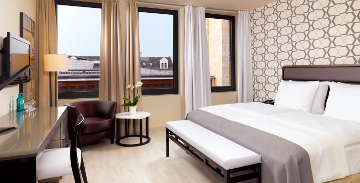 Exemple chambre double - H10 Berlin Ku'damm