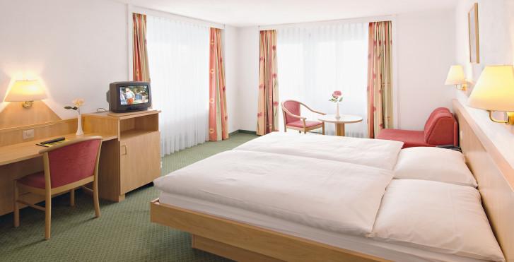 Doppelzimmer West/Nord - Hotel Gornergrat