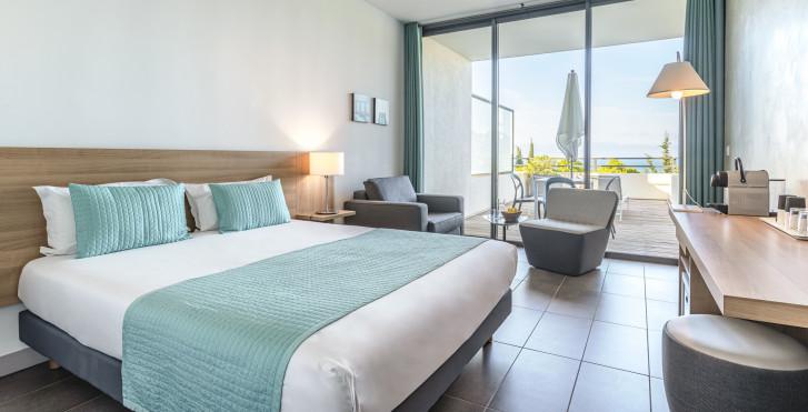 Doppelzimmer - Hotel Les Terrasses du Bailli