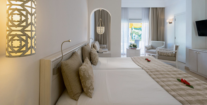 Chambre double - Hôtel Sindbad