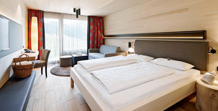 Chambre double Naturkraft - Hôtel bien-être Warther Hof