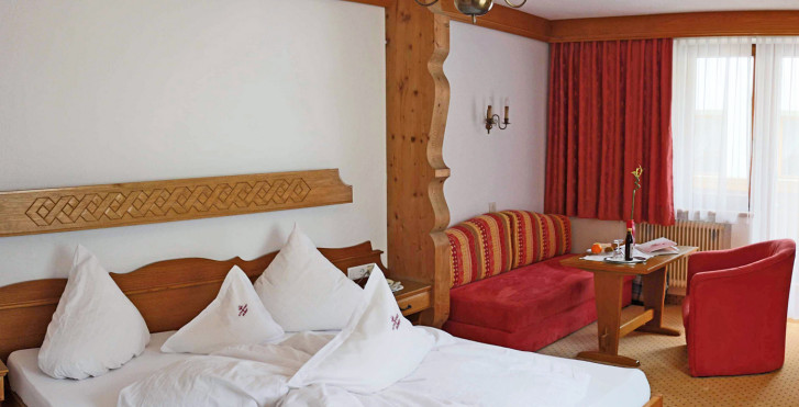 Chambre double Tyrol - Hôtel Schwarzer Adler
