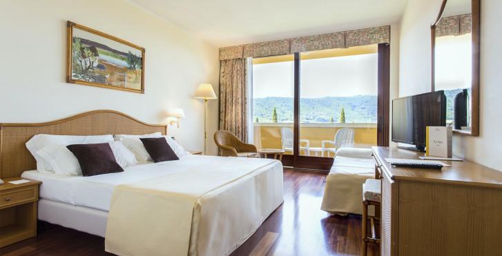 Doppelzimmer Costabella - Ferienanlage Poiano - Hotel