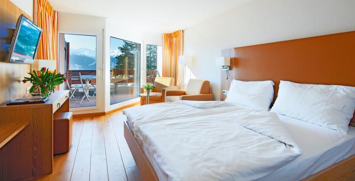 Chambre double - Helvetia Intergolf - hôtel