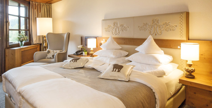 Chambre double First Class Sud - Lindner Parkhotel & Spa