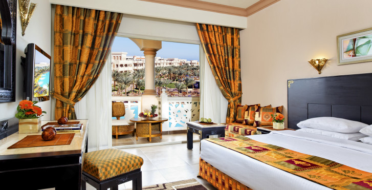 Doppelzimmer mit Garten-/Poolsicht - Albatros Palace Resort
