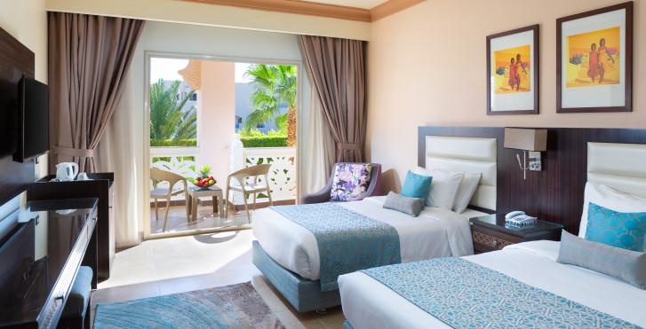 Doppelzimmer Gartensicht - Albatros Palace Resort