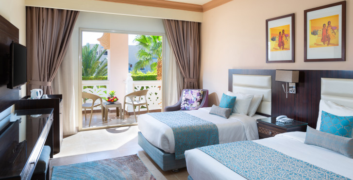 Chambre double vue parc - Albatros Palace Resort