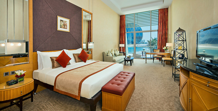 Grand Gulf View-Zimmer - Al Raha Beach Hotel