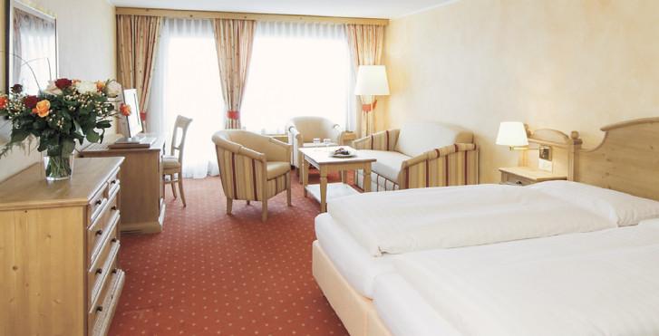 Chambre double - Silvretta Parkhotel - été, remontées mécaniques incluses