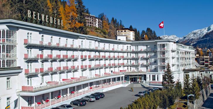 Bild 8059261 - Steigenberger Grandhotel Belvédère Davos- Sommer inkl. Bergbahnen