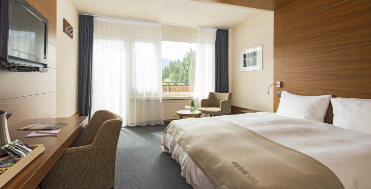 Doppelzimmer - signinahotel Laax