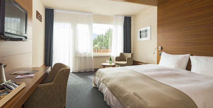 Chambre double - signinahotel Laax
