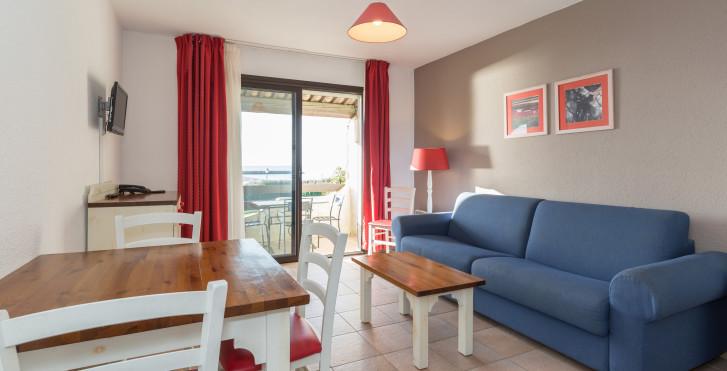 2-Zimmer-Appartement - Thalacap Camargue - Appartements