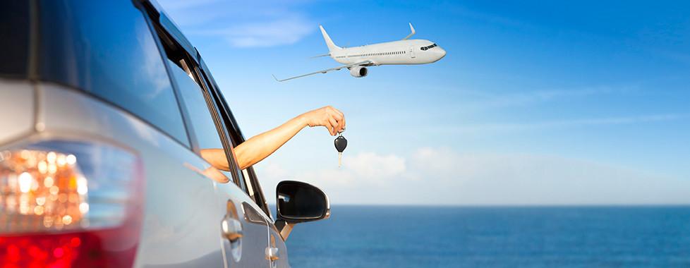 Flug und Mietwagen