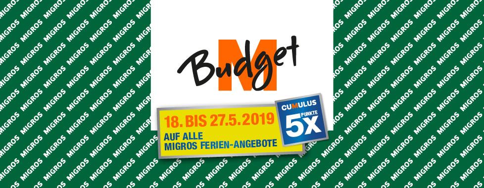 M-Budget 5x Cumulus-Punkte