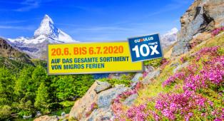 Ferien in der Schweiz - Unterwallis