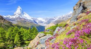 Vacances en Suisse - Bas-Valais