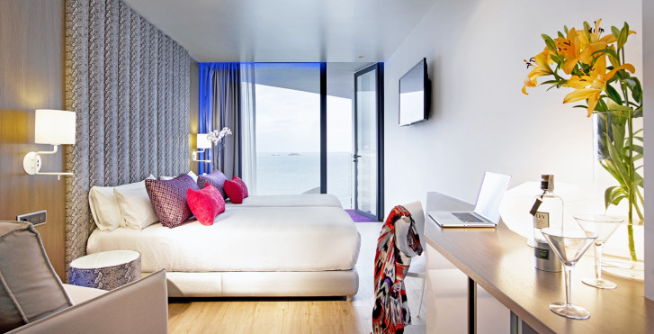 Chambre double Deluxe Silver (Tower) - Hard Rock Hotel Ibiza