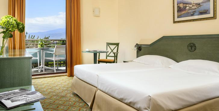Chambre double Classic - UNAHOTELS Naxos Beach Sicilia