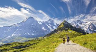 Vacances de randonnée en Suisse - Savognin