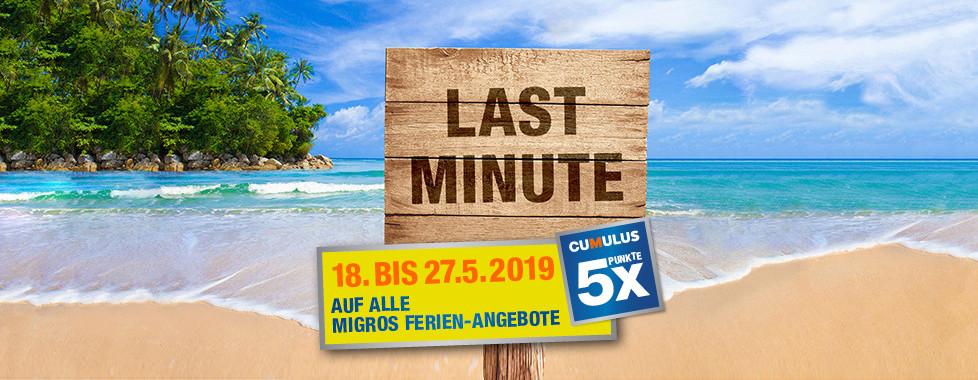 Last Minute - Migros Ferien