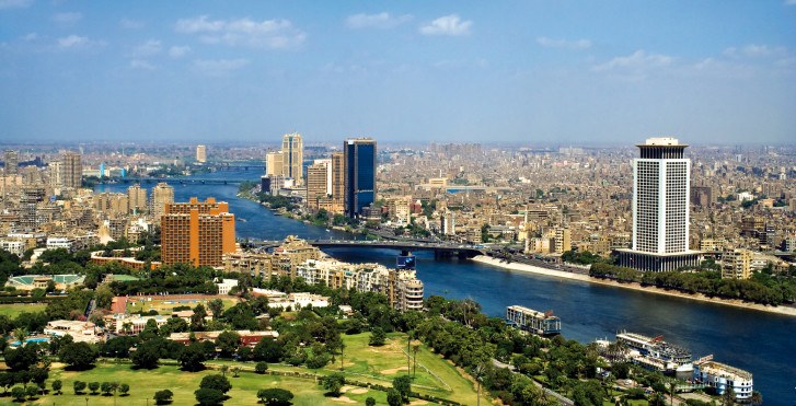Panorama urbain, Caire