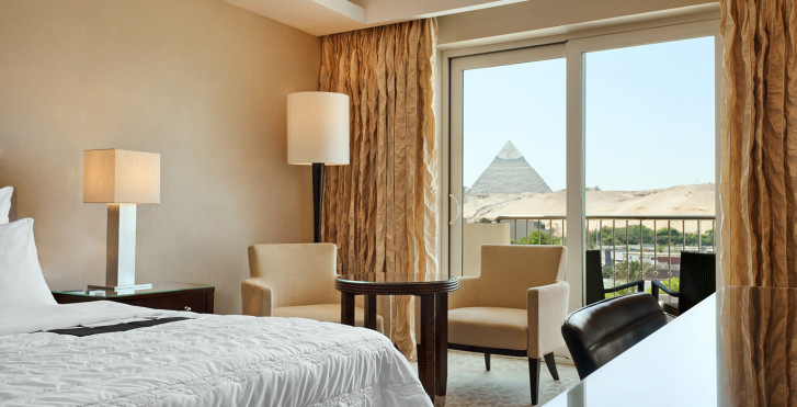 Doppelzimmer Premium Deluxe - Le Meridien Pyramids