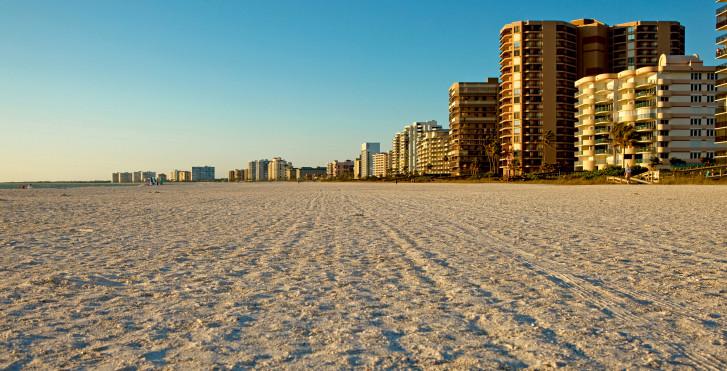 Southern Florida Beach auf Marco Island