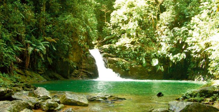 Rio Seco Wasserfall, Trinidad und Tobago