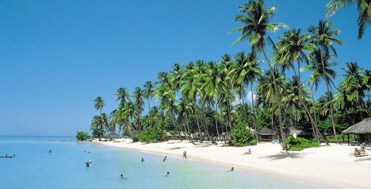 Sandstrand auf Tobago