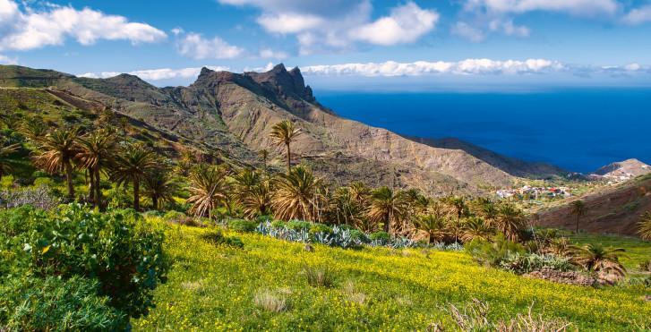 Vue de l'Atlantique, La Gomera