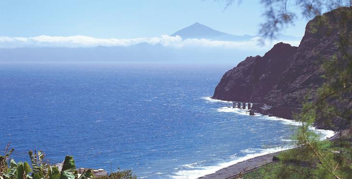 Côte atlantique, La Gomera