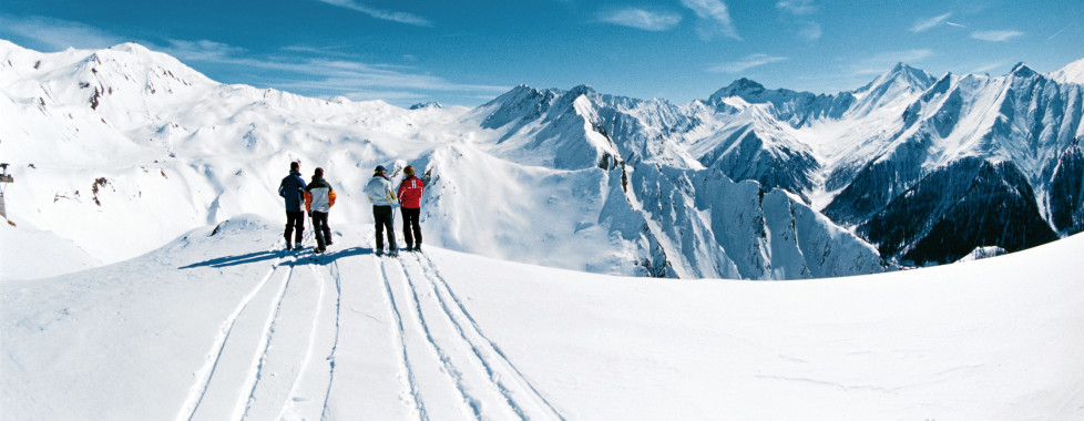 Le paradis du ski dans les Alpes