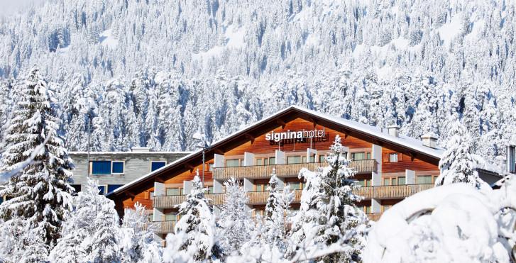 © Weisse Arena Gruppe - signinahotel Laax - Forfait ski