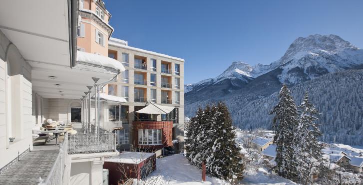 Image 31258944 - Hôtel Belvédère (avec abo-ski (hiver)/remontées mécaniques (été) et Bad Scuol)