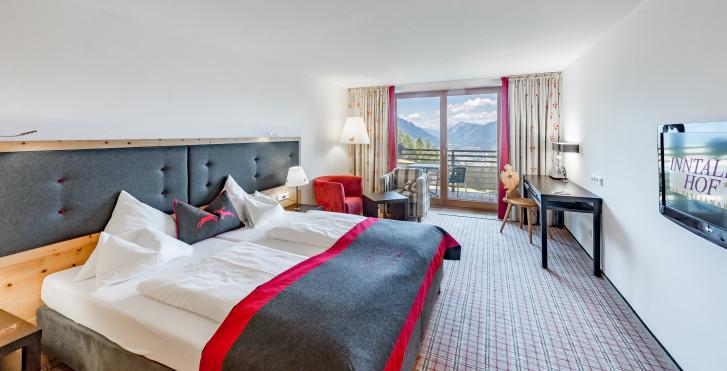 Doppelzimmer Deluxe Weitsicht - Inntalerhof - DAS Panoramahotel