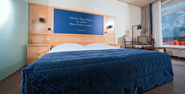 Chambre double - Hôtel Kreuz & Post