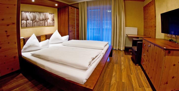 Chambre double Stanzerl - Hôtel Mozart Vital