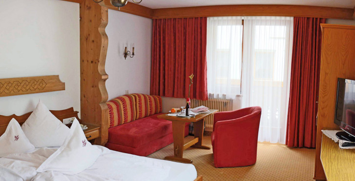 Doppelzimmer Tyrol - Hotel Schwarzer Adler