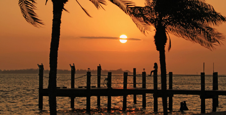 Sonnenuntergang, Sarasota