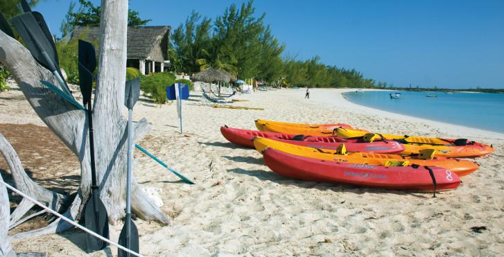 Strand von Harbour Island, Bahamas