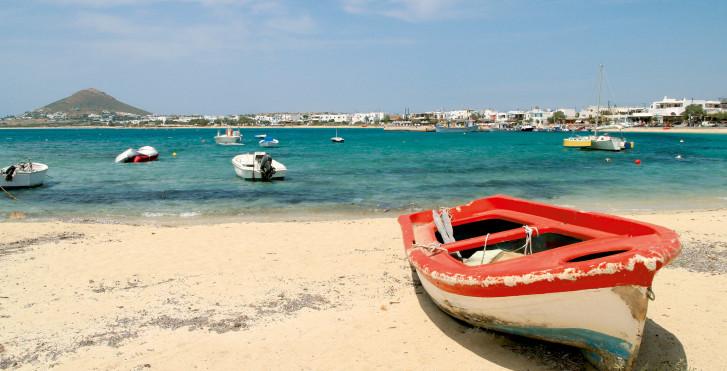 Plage à Naxos