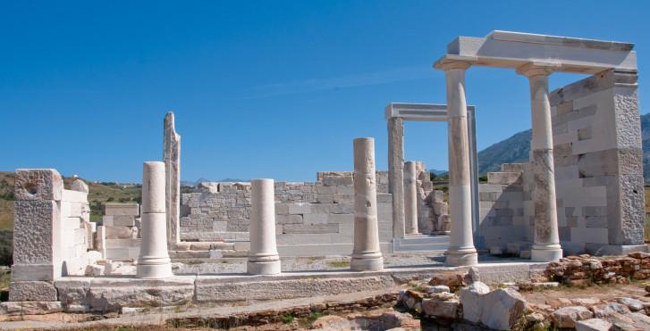 Temple de Sangri, Naxos