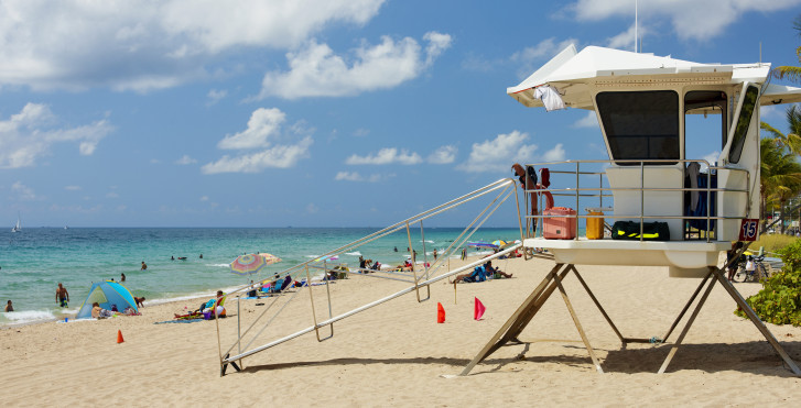 Strand in Fort Lauderdale, North Florida Beaches